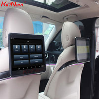 KiriNavi Android 6.0 11.6 inch touch screen Headrest Monitor for Mercedes car back seat Monitor Entertainment WiFi LCD