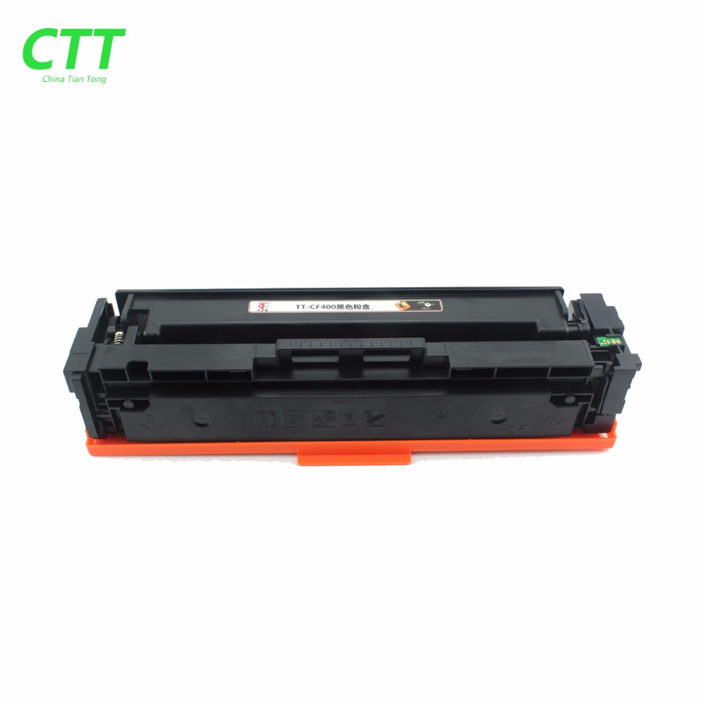 Chip for hp colour cf 400 a cf 400 m252dw m 277n m 252 mfp 252 n - 1x New Black Toner Cartridge Compatible For Hp Cf400a 201a M252dw M274 277dw 252n Mfp Cf400