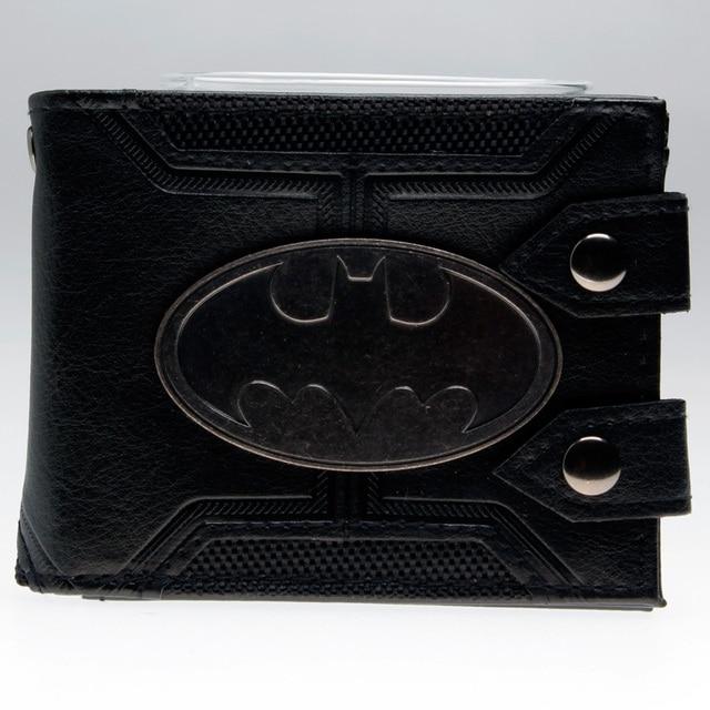 Кошелек Бэтмен с металлической вставкой