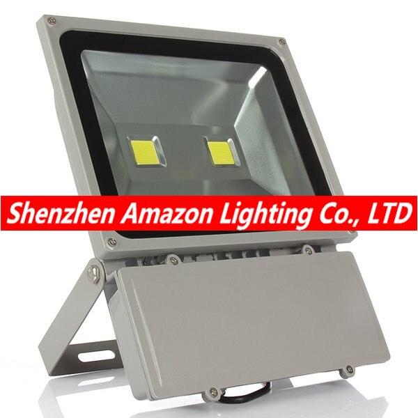 1 pièces 100 W éclairage Led 2 pièces 50 W puce Led étanche extérieure lumière d'inondation AC85-265V extérieure Led projecteur extérieur Led réflecteur