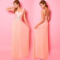 2019 Бесплатная доставка модное кружевное платье с v образным вырезом бисером Бальные платья для выпускного бала Вечерние бальное торжествен