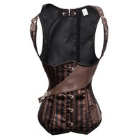 gothic steampunk corset espartilhos corset corselet corpetes e espartilhos para festa latex waist training corpetes corset cuir