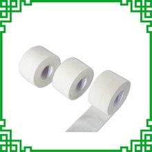 ความหนืดสูงสีขาวผ้า Fine กีฬาเทปกันน้ำ Serrated เทปสามารถปรับแต่ง