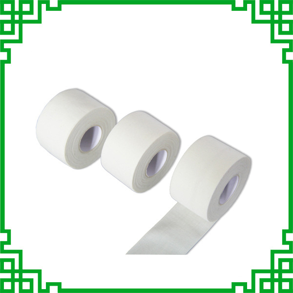 High Viscosity White Fine Cloth Medical Sports Tape Waterproof Cotton Serrated Tapes Can Be Customized