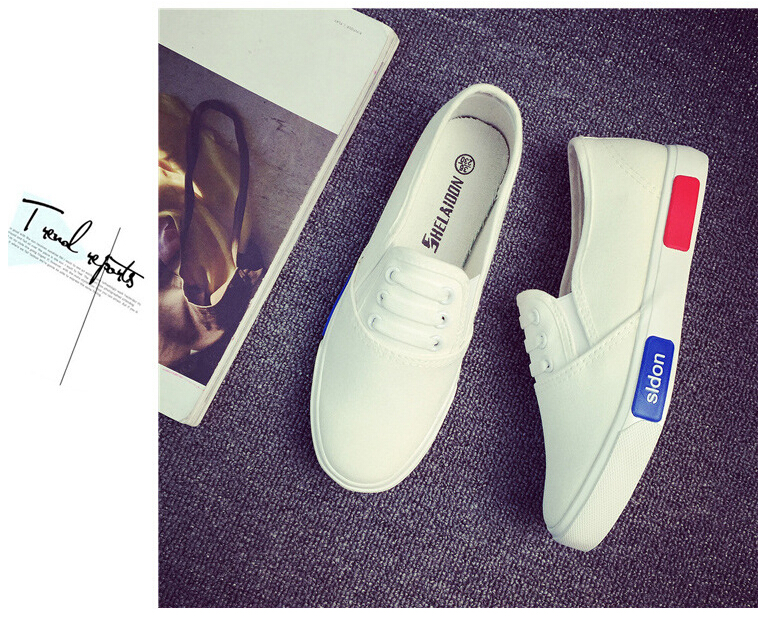 Free Shipping Spring and Autumn Men Canvas Shoes High Quality Fashion Casual Shoes Low Top Brand Single Shoes Thick Sole 7583 -  -  -  -