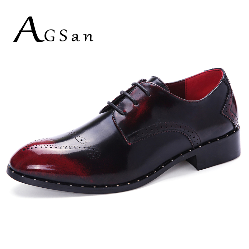 Online Get Cheap Burgundy Dress Shoes Men -Aliexpress.com ...