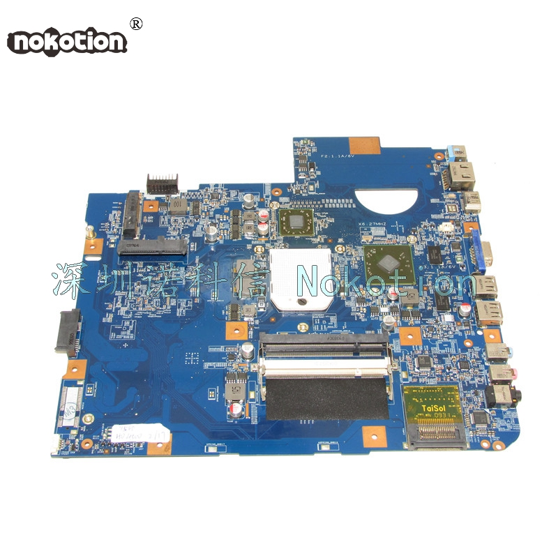 NOKOTION 48.4FN01.011 For acer Asipre 5542 laptop motherboard DDR2 HD 4500 nokotion sps v000198120 for toshiba satellite a500 a505 motherboard intel gm45 ddr2 6050a2323101 mb a01