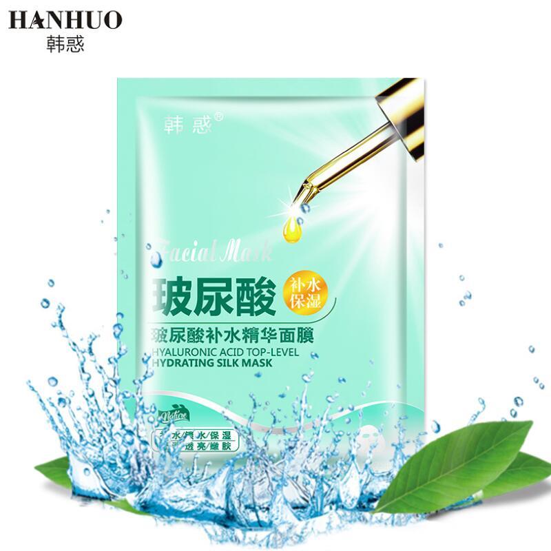 HANHUO Hyaluronic Acid Facial Mask Moisturizing Nourishing Hydrating Anti-Aging Face Mask Face Skin Care