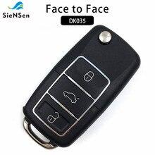 SieNSen Универсальная беспроводная копия «лицо лицо», 3 кнопки, 315/433 МГц, клонирование гаражной двери, дистанционное управление, стандарт DK035