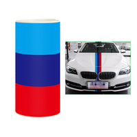 10m 15cm Car Sticker Car Styling For Engine Cover Car Body Hood Decal Stripe 3 Color