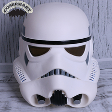 New Star Wars Helmet Stormtrooper Mask Wearable Cosplay Helmet Masks Full Face PVC Adult Party Prop недорого