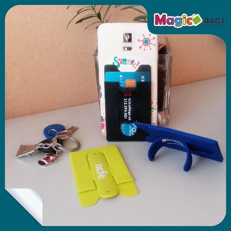 500pcshot sales convenience silicone smart wallet credit for Mobili convenienti