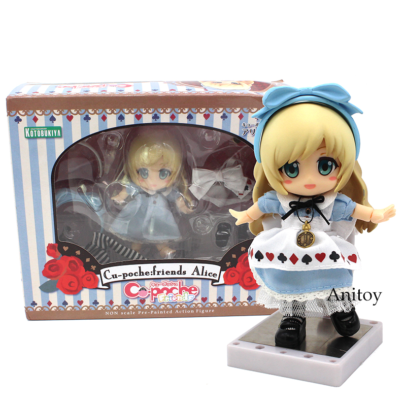 Alice Nendoroid 1/10 scale painted figure Real Clothes PVC Action Figure Collectible Model Toy 10cm KT3811