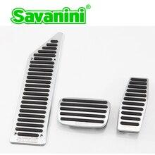 Savanini автомобиль Alumnium Подножка педаль тормоза и газа колодки без бурения для Buick Excelle(2010-) и Cruze AT/MT Нескользящие стиль