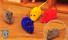 Funny Pet Dog Cat Toy Emulation Mouse Vocal Puzzle Toys Interactive Squeak Toys Pet Accessories 2016 New