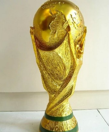 resin 36cm tall world cup trophy 1 1 to real weight 5kg. Black Bedroom Furniture Sets. Home Design Ideas