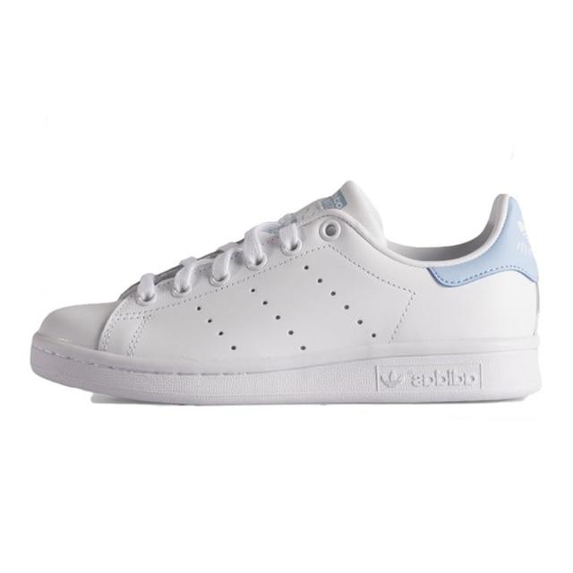 super popular 0b54b 249b7 Adidas STAN SMITH Women's Walking Shoes, White & Sky Blue, Lightweight  Breathable Shock-absorbing Wear-resistant BA7673 AQ6272 |  www.illestmonkey.com