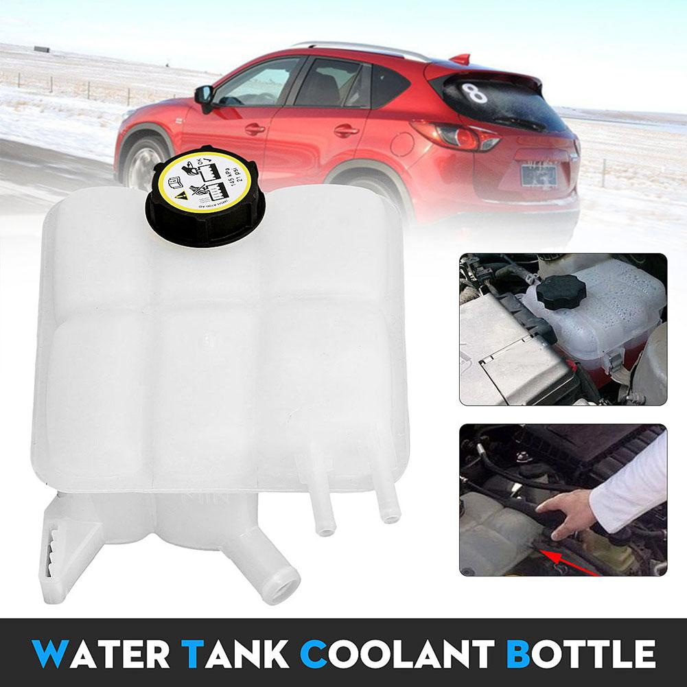 Car Portable Coolant Tank Recovery Reservoir Radiator With Cap For 2004-2012 Mazda 3 Waterproof, Shock-Resistant And Antimagnetic