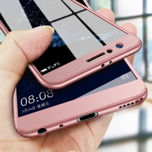 360 Protective Phone Case Huawei Honor 10 9 8 lite 8X MAX 8A Luxury Hard Plastic Full Cover Tempered Glass
