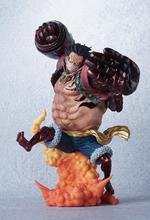 24cm ONE PIECE Monkey D Luffy Gear Fourth Fighting Animation Figure Model figurine