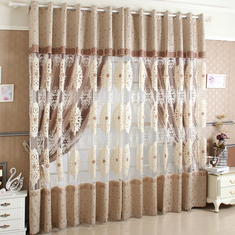 Us 25 99 New 2014 Hot Sale Cortinas Para Sala Modern Purple Jacquard Tulle Curtain Sheer Flat Curtains For Windows Living Room Blinds In Curtains