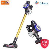 Dibea D18 2 In 1 Handheld Cordless Vacuum Cleaner Strong Suction Dust Collector Wireless Vacuum Cleaner With Wall Hanging Rack