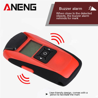 Multi Function Handheld LCD Wall Stud Finder Metal Wood AC Cable Live Wire Scanner Detector Tester