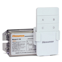 Y C6 AC 220V Two Ways 2CH 315mhz 10A Digital Wireless Remote Control Switch With Remote