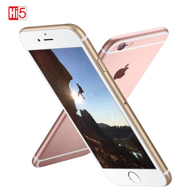 """Mở Khóa Chính Hãng Apple iPhone 6S Plus 16G/64G/128G Rom 5.5 """"12.0MP Camera IOS LTE Di Động Điện Thoại IOS 2 Nhân Vân Tay 6 Splus"""