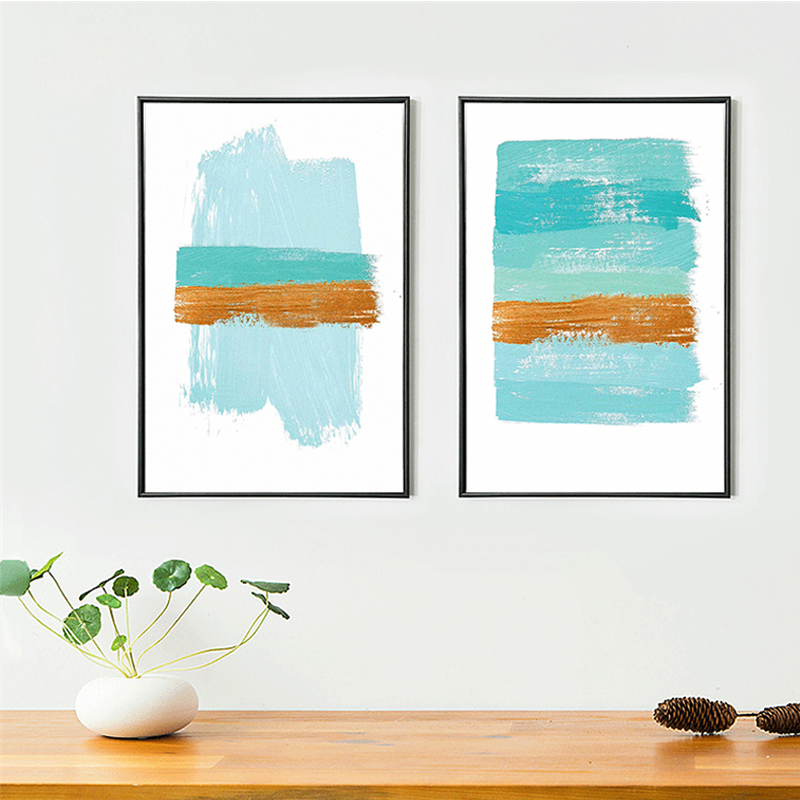 Original design creative abstract the paint sky ocean for Creative abstract painting
