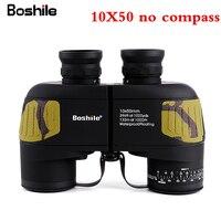 Boshile Binoculars 10x50 Zoom Telescope With Built In Rangefinder Military Binocular HD High Times Waterproof For