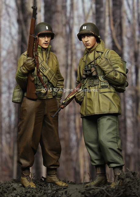 1:35  WW2 US Infantry Set