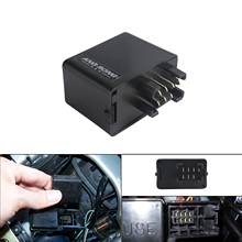 цена на ANGRONG 7 Pin Signal Flasher Relay for LED indicators For Suzuki GSXR 600 SV 650 GSX 650F