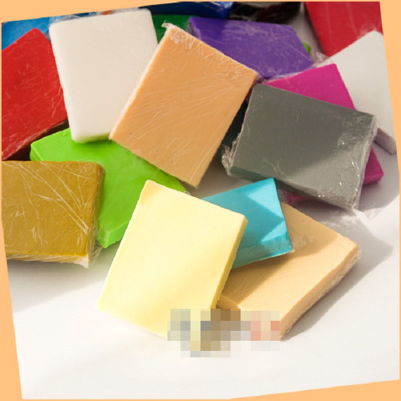 48g / block Beijing third generation of oven-bake clay Polymer clay FIMO Soft clay modeling Basic color