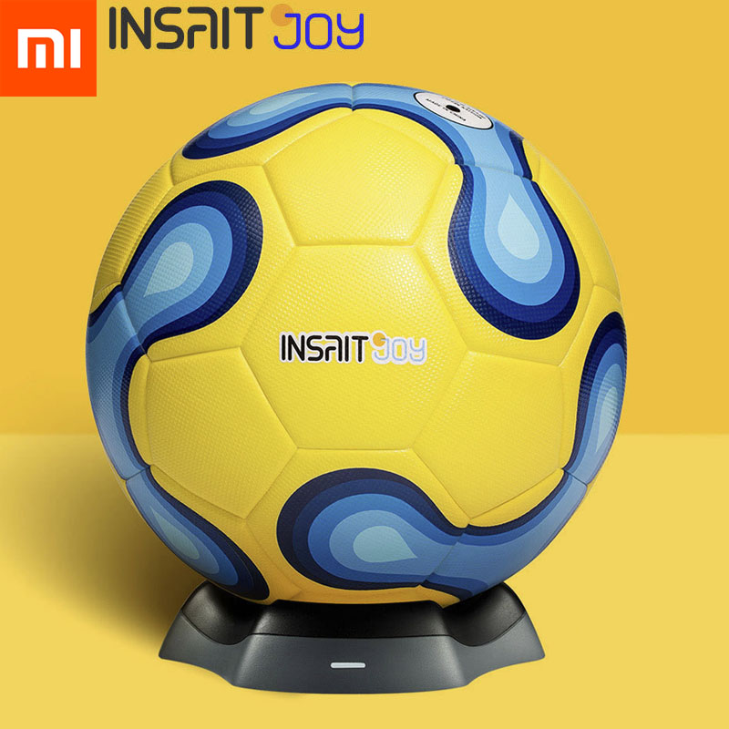 US $93 9 11% OFF|Xiaomi Mijia Insait Joy Smart Football Wireless Charger  Soccer APP Teaching for Youth Training Gift-in Smart Remote Control from