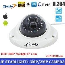 Discount! 2mp starlight  ip camera 1080p network camera with 3MP HD Lens onvif cctv digital starlight camera for nice night vision