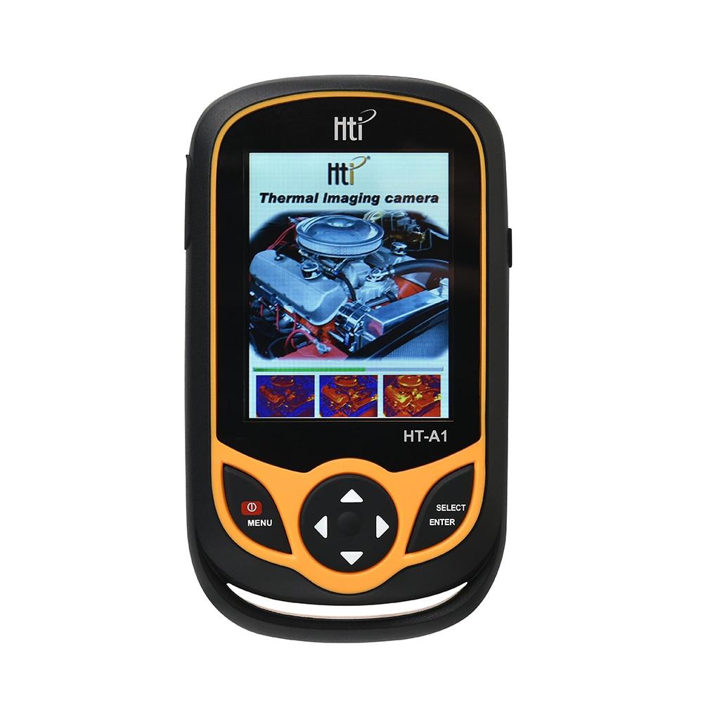 HT-A1 Termovisor 3.2 polegada Tela TFT de Visão Completa 0.3MP Detector Câmera termômetro Infravermelho Termovisor para a Caça Ao Ar Livre