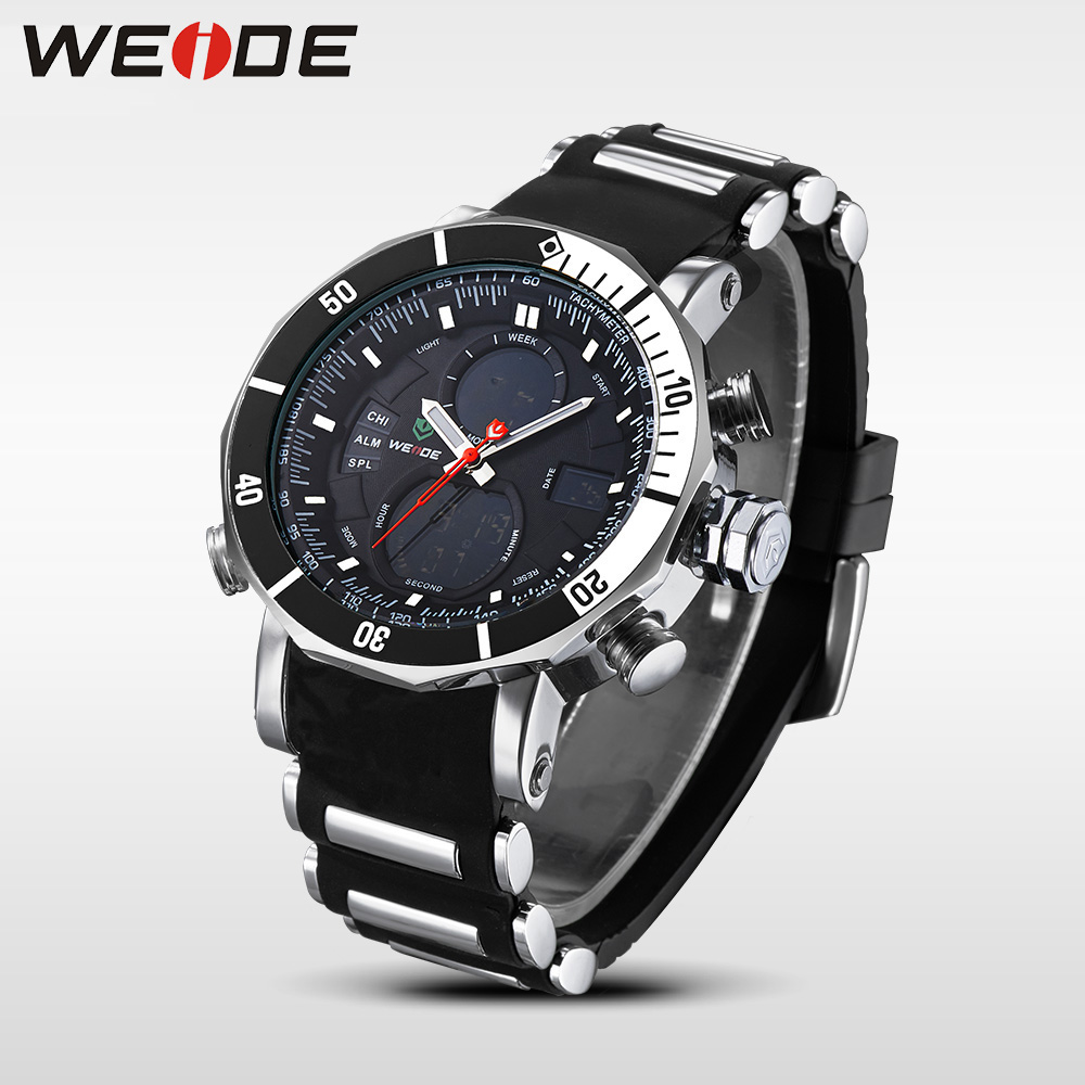 Շքեղ բրենդ WEIDE Quartz Ձեռքի ժամացույցներ - Տղամարդկանց ժամացույցներ - Լուսանկար 3