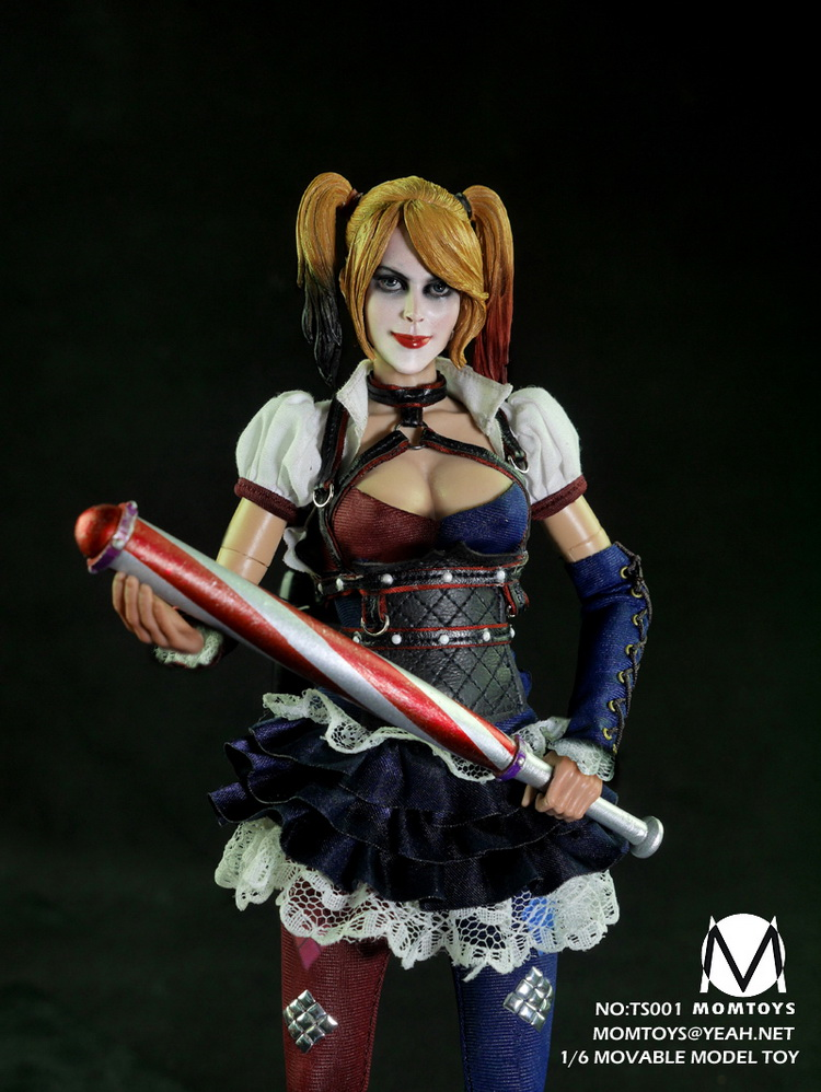 1:6 scale figure doll Suicide Squad female Joker Harley Quinn 12 Action figure doll Collectible model plastic toy 1 7 scale figure doll female clown harley quinn 10 action figure doll collectible figure model toy gift