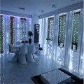 2 M x 2 M 2016 Ano Novo Guirlandas de Natal LED Cordas Luzes De Natal Xmas Garden Party Decoração Do Casamento Cortina Luz de fadas