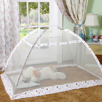 Travel Portable Baby Crib Netting Polyester Mesh Folding Baby Mosquito Nets Summer Bottomless Baby Infant Sleeping Mosquito Net elegant hung dome mosquito nets for summer polyester mesh fabric home textile wholesale bulk accessories supplies products
