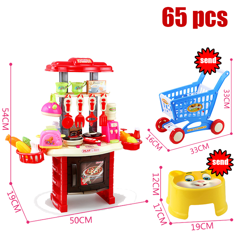 Children Boys girls toys play house kitchen cooking simulation kitchen cooking playsets baby nursery baby playing housecozinha 4pcs lot 2 2 rubber tires tyre plastic wheel rim 12mm hex for redcat exceed hpi hsp rc 1 10th off road monster truck bigfoot