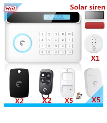 32 Wireless Zone Smart Home Alarm Etiger S4 Wireless Saftey GSM - Veiligheid en beveiliging