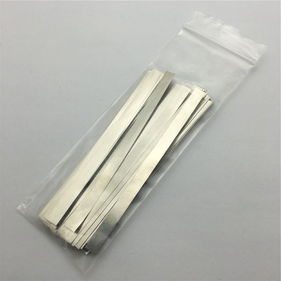 0.1mm x 2mm x 100mm 100pcs Pure Nickel Plate Strap Strip Sheets 99.96% for battery spot welding machine Welder Equipment welder machine plasma cutter welder mask for welder machine