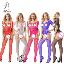 Increase the Erotic Underwear Uniform Temptation Hollow Onepiece Mesh Clothing Onesies Sexy Body Sculpting Corsets Body stocking цена