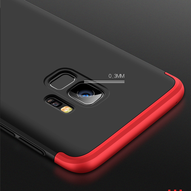 buy popular 84b2b c8ade US $2.94 30% OFF|Coque For Samsung Galaxy S9 Case Brand Original 360 Full  Body Hard Hybrid Plastic Protection Case For Samsung S9 PLUS Case Cover-in  ...