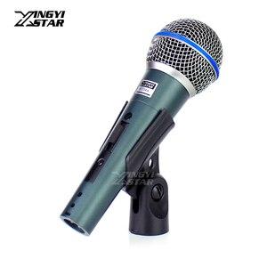Image 1 - BT58A micrófono dinámico de mano con interruptor profesional, PARA Karaoke mezclador de Audio, DJ, PC, estudio de Youtube, para BETA58A, BETA 58A 58