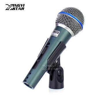Профессиональный голосовой переключатель BT58A, Портативный динамический микрофон для BETA58A BETA 58A 58, аудио караоке микшер, микрофон для диджеев, ПК, студии, Youtube