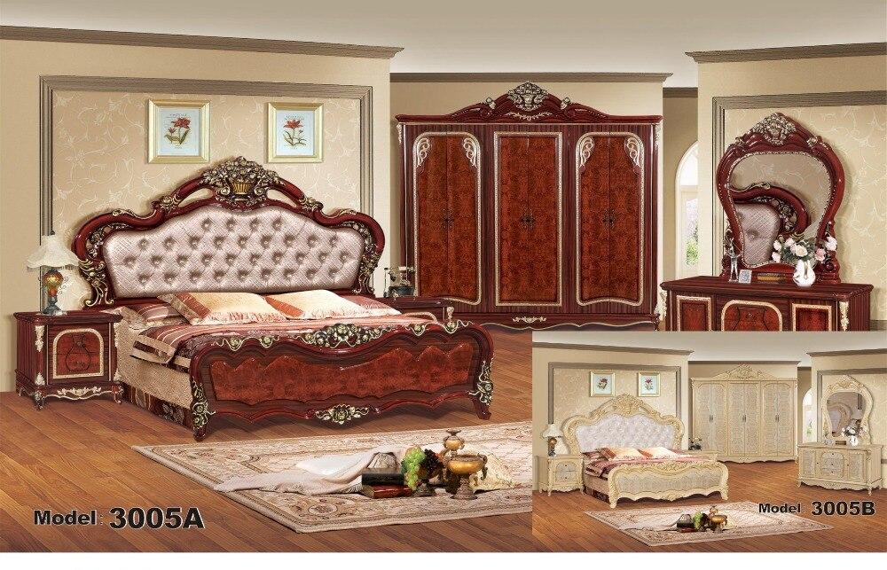 luxury bedroom furniture sets bedroom furniture china deluxe six piece suit - Bedroom Sets Buy Online