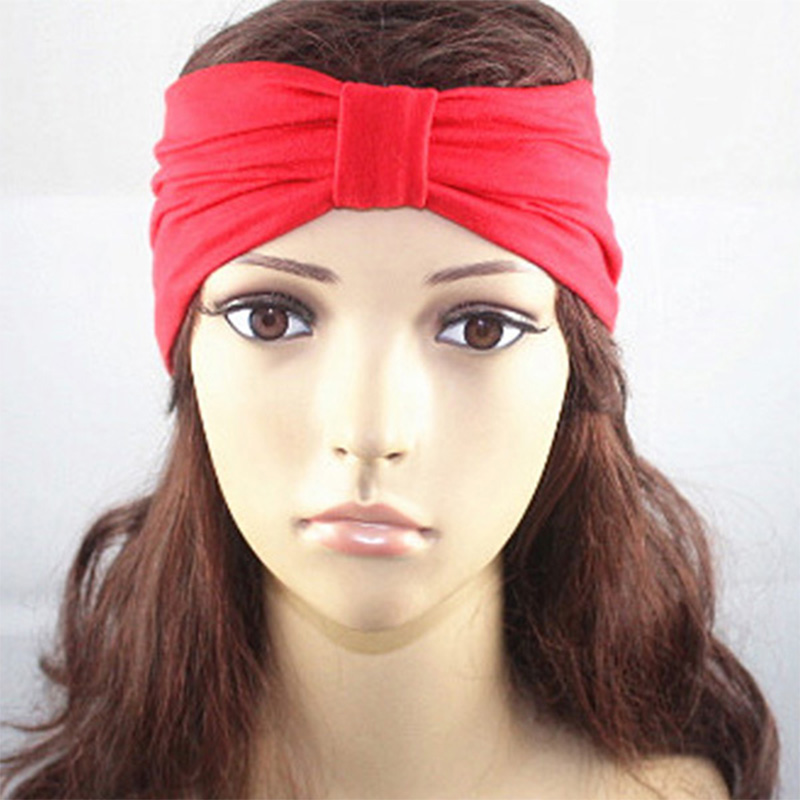 0ee22376c998 Lot Of 6 Fashion Women Head wrap Headband Turban Scarf Twist Knot Yoga  Workout Women s Accessories Hair Accessories